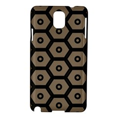 Black Bee Hive Texture Samsung Galaxy Note 3 N9005 Hardshell Case
