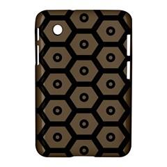 Black Bee Hive Texture Samsung Galaxy Tab 2 (7 ) P3100 Hardshell Case