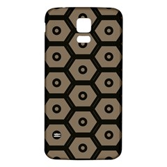 Black Bee Hive Texture Samsung Galaxy S5 Back Case (white)