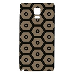 Black Bee Hive Texture Galaxy Note 4 Back Case