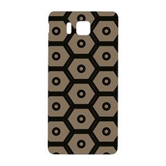 Black Bee Hive Texture Samsung Galaxy Alpha Hardshell Back Case