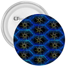 Blue Bee Hive 3  Buttons