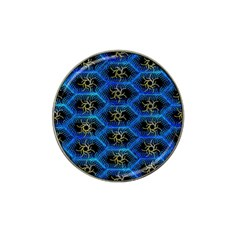Blue Bee Hive Hat Clip Ball Marker (4 Pack)