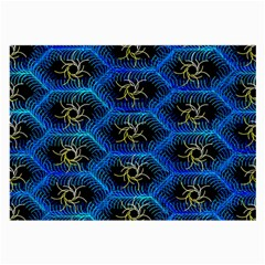Blue Bee Hive Large Glasses Cloth