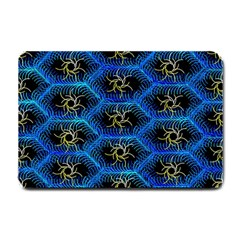 Blue Bee Hive Small Doormat