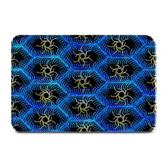 Blue Bee Hive Plate Mats