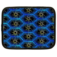 Blue Bee Hive Netbook Case (large)