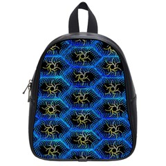 Blue Bee Hive School Bags (small)