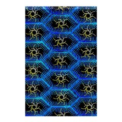 Blue Bee Hive Shower Curtain 48  X 72  (small)