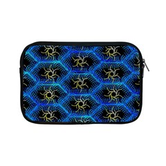 Blue Bee Hive Apple Ipad Mini Zipper Cases