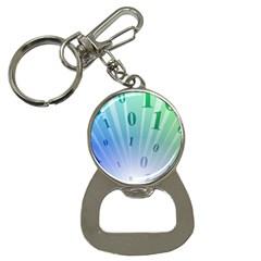 Blue Binary Background Binary World Binary Flow Hand Button Necklaces