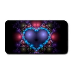 Blue Heart Medium Bar Mats