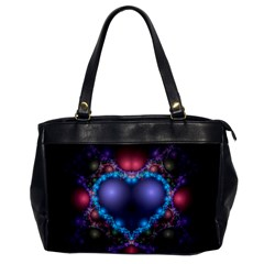 Blue Heart Office Handbags