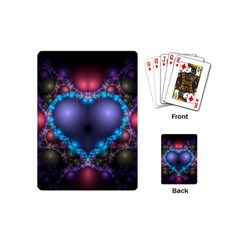 Blue Heart Playing Cards (mini)