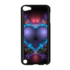 Blue Heart Apple Ipod Touch 5 Case (black)