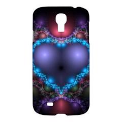 Blue Heart Samsung Galaxy S4 I9500/i9505 Hardshell Case