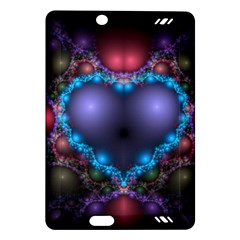 Blue Heart Amazon Kindle Fire Hd (2013) Hardshell Case
