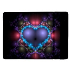 Blue Heart Samsung Galaxy Tab Pro 12 2  Flip Case
