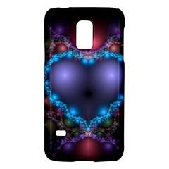Blue Heart Galaxy S5 Mini