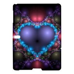 Blue Heart Samsung Galaxy Tab S (10 5 ) Hardshell Case