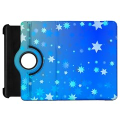 Blue Hot Pattern Blue Star Background Kindle Fire Hd 7