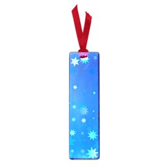 Blue Hot Pattern Blue Star Background Small Book Marks