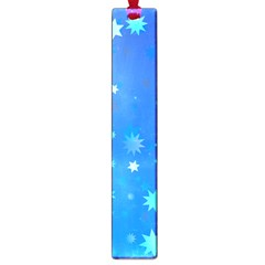 Blue Hot Pattern Blue Star Background Large Book Marks