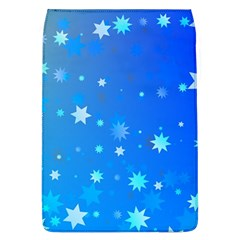 Blue Hot Pattern Blue Star Background Flap Covers (l)