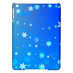 Blue Hot Pattern Blue Star Background Ipad Air Hardshell Cases