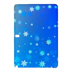 Blue Hot Pattern Blue Star Background Samsung Galaxy Tab Pro 12 2 Hardshell Case
