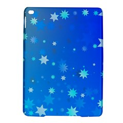 Blue Hot Pattern Blue Star Background Ipad Air 2 Hardshell Cases