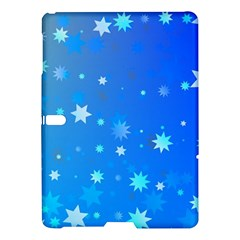 Blue Hot Pattern Blue Star Background Samsung Galaxy Tab S (10 5 ) Hardshell Case
