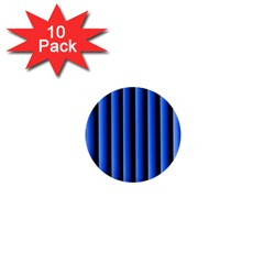 Blue Lines Background 1  Mini Buttons (10 pack)