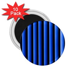 Blue Lines Background 2 25  Magnets (10 Pack)
