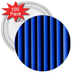 Blue Lines Background 3  Buttons (100 pack)