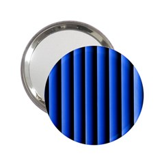 Blue Lines Background 2 25  Handbag Mirrors
