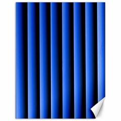 Blue Lines Background Canvas 12  X 16