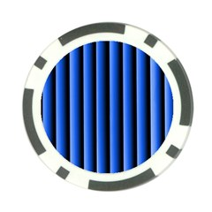 Blue Lines Background Poker Chip Card Guard