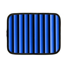 Blue Lines Background Netbook Case (small)