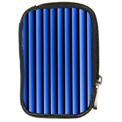 Blue Lines Background Compact Camera Cases