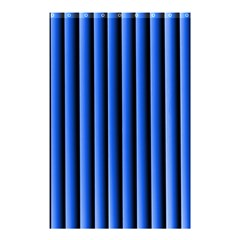 Blue Lines Background Shower Curtain 48  X 72  (small)