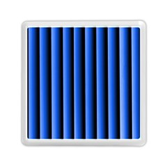 Blue Lines Background Memory Card Reader (square)
