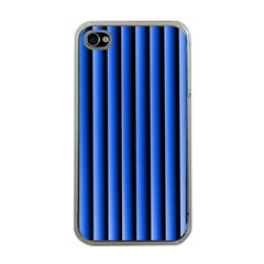 Blue Lines Background Apple Iphone 4 Case (clear)