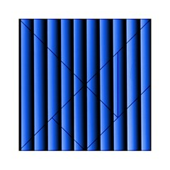 Blue Lines Background Acrylic Tangram Puzzle (6  X 6 )