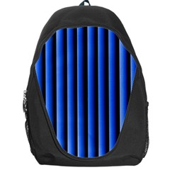 Blue Lines Background Backpack Bag