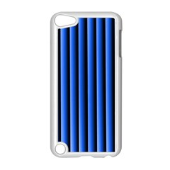 Blue Lines Background Apple Ipod Touch 5 Case (white)