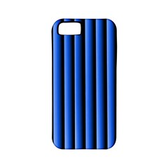 Blue Lines Background Apple Iphone 5 Classic Hardshell Case (pc+silicone)