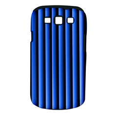Blue Lines Background Samsung Galaxy S Iii Classic Hardshell Case (pc+silicone)