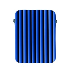 Blue Lines Background Apple Ipad 2/3/4 Protective Soft Cases