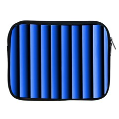 Blue Lines Background Apple Ipad 2/3/4 Zipper Cases